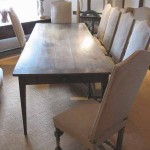 sold65 19c French farmhouse table in oak